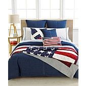 CLOSEOUT! Tommy Hilfiger Denim Bedding Collection