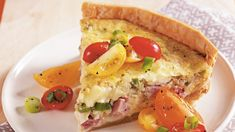 Slow Cooker Ham and Swiss Quiche