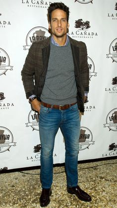 The Hottest Male Tennis Players at the 2014 U.S. Open: Feliciano Lopez of Spain. #InStyle