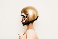 THE PERFECT CUSTOM PAINTED HELMET FOR A LADY