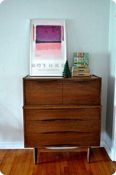 Rothko + Mid-century furniture = My style