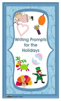Writing Prompts for the Holidays