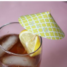 Cocktail Umbrella  http://www.printyourparty.com