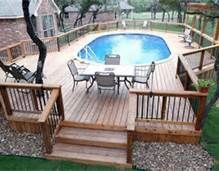 Never liked above ground..but if it means decking our WHOLE yard then I am totally loving it!!!!
