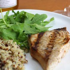 Grilled Swordfish #WeekdaySupper