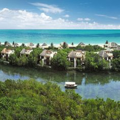 Enter for a chance to win a five-day, four-night stay for two at the Fairmont Mayakoba Resort in Mexico's Yucatan Peninsula. #win #free #giveaways #sweepstakes