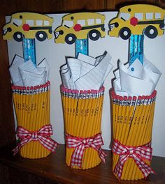 Party Planning Mom: Back To School Centerpiece