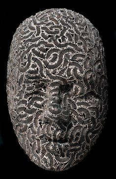 Metal Heads: Sculptures Made of Movable Type & Hardware