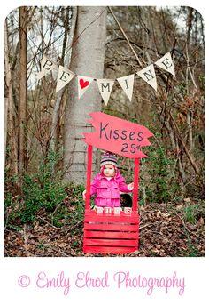 valentine kisses photo