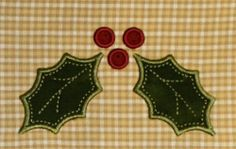 Holly Hot Pads - design $4.95 hot pad