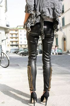 #Desire #Clothing #Leather #Trend #Fashion #Styling