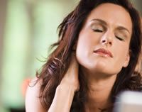 Stress and neck tightness