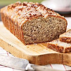 30 Best Quick Bread Recipes | Coconut Banana Bread with Lime Glaze | CookingLight.com