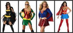 Sexy Superhero Halloween Costumes....ooooooh I love these=))