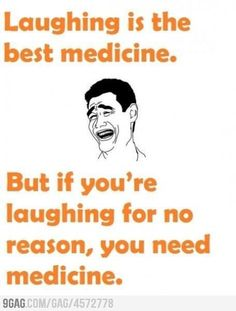 Just laughter
