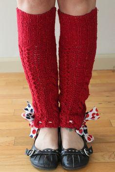 DIY Legwarmers and Boot Socks!