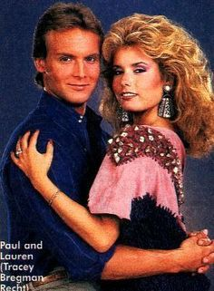 Photo of Paul Williams & Lauren Fenmore for fans of The Young and the Restless.