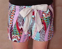 DIY pajama shorts