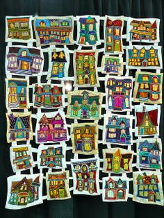 """Stepping Out in Saint John, New Brunswick"" by Judy Morningstar. Chicago International Quilt Festival 2009.  Photo by Susie Z"