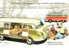 1958 VW Van brochure