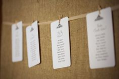Rustic wedding stationery - table plan, seating arrangements - Cocoa Berry Design