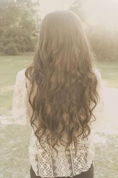 I want my hair this long and this color! Maybe with some ombre