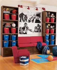 game rooms, bench, wall storage, toy rooms, photo wall, boy rooms, playroom, play room decor, kid