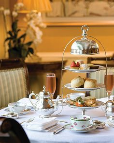 Afternoon Tea at the Four Seasons Hotel