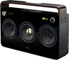 My new stereo. TDK Boombox