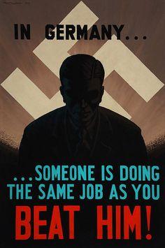 British propaganda poster #propaganda #worldwar2