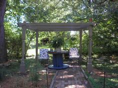 old wooden porch columns | ... restore the pergola is built using old wooden column posts from