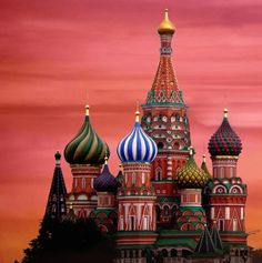 St. Basil's Cathedral @ Moscow