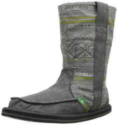 Sanuk Women's Wanderer Boot,Charcoal,5 M US