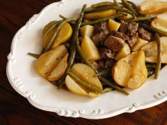 Swedish Lamb Stew with Pears  Entrees, Gluten Free, Holiday Foods, Kosher - Meat, Recipes, Slide Show, Vintage Recipes