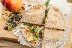 Hummus Pita Wedges