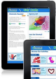 art crafts, craft activities, craft app, teacher discount, kid crafts