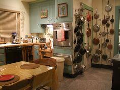 Julia Child's kitchen at the Smithsonian...