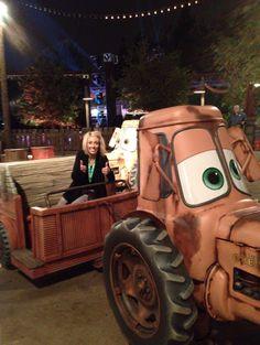 Or so she says...: Disneys California Adventure Cars Land Tour & Tips (she: Jen)