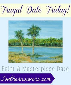 Channel your inner Picasso for this weeks frugal date idea!