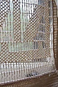 cortinas / crochet curtain