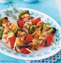 Barbecue Chicken Kabobs | 8 Easy Summertime Kabob Recipes from Gooseberry Patch