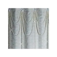 Shower+Curtain+Bling....Double+Swag+w+long+by+ShowerCurtainBling
