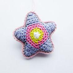 Crochet Star Pattern.