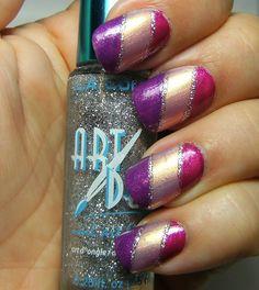 klean color nail duos stripes