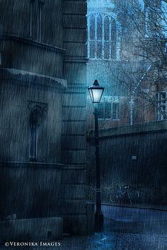 I Love a rainy night.