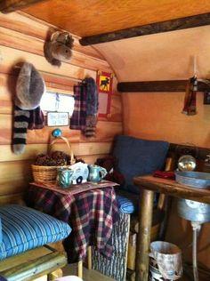 mountain cabins, scotti camper, camp trailers, glamp, scotty camper, scotti interior, serro scotti, 1965 serro, camp fun