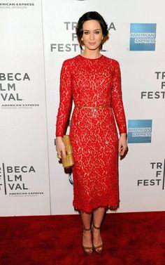 Emily Blunt in Michael Kors Fall 2012