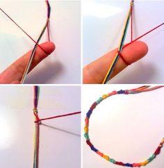Bracelet Macrame - Tutorial ❥ 4U // hf