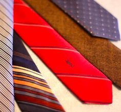 Turn Wide Thrift-Store Ties into Skinny Ties.