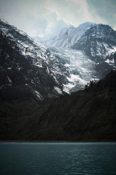 beautiful mountain and water